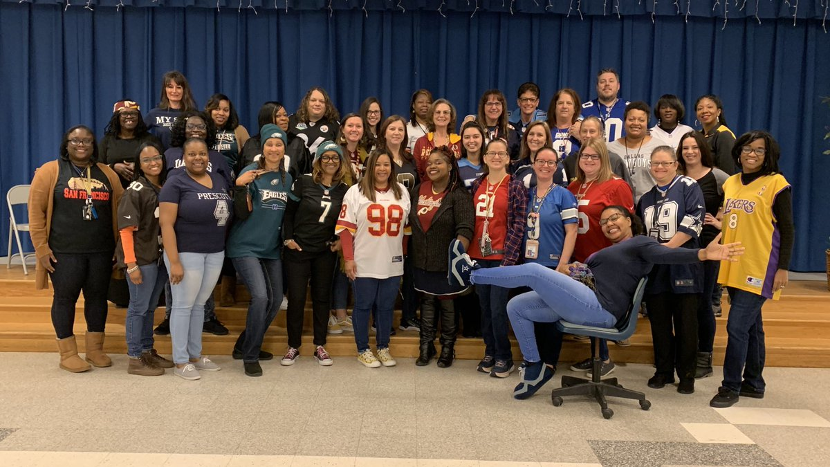 Jersey Day at Mack Benn, Jr. Elementary! #mightymarlins #BuildingTheBestSPS