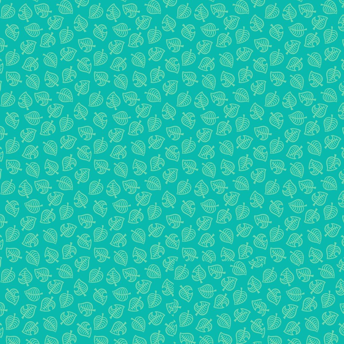 animal crossing new horizons leaf pattern