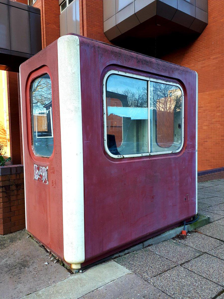 How beautiful thou art redundant car park attendant hut...#popup #theatre #Coventry