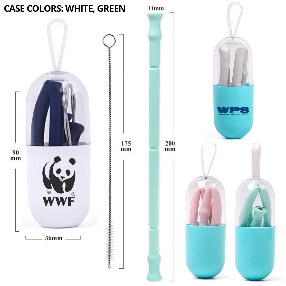 New Arrival! 📢 Check out this cute Collapsible Silicone Straw Set w/ Brush. 😍 https://t.co/5AbdOsQq2M  #collapsiblestraw #siliconestraw #trendygifts #promotionalitems #giveaways https://t.co/npJN0AHoeo