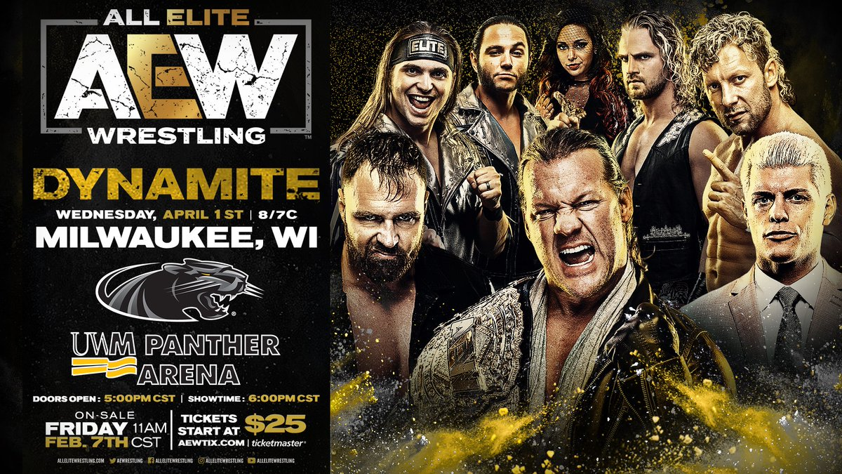 AEW Milwaukee Debut Announced, More AEW Dynamite News Still To Come