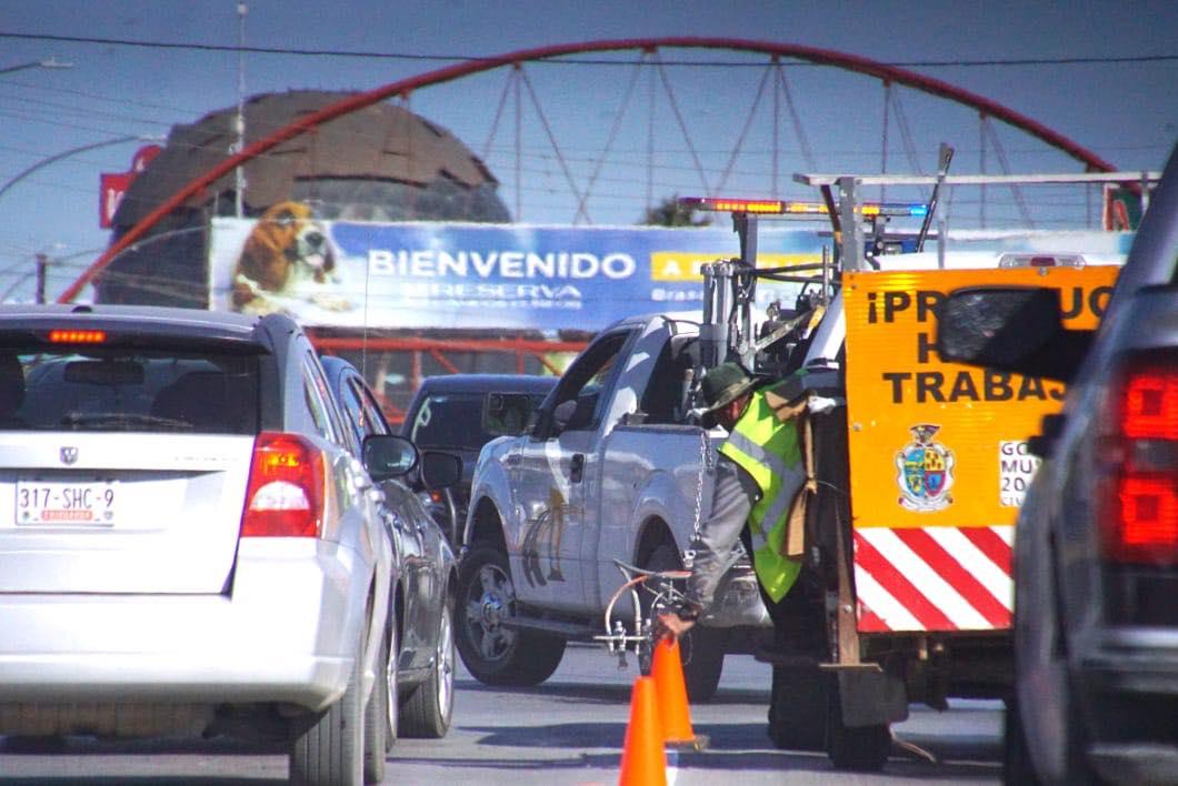 Sigue la señalización en Av. Tecnológico de Vicente Guerrero hacia el sur y en Cesáreo Santos. Ahí vamos.-@ https://t.co/BWxZMhM45E
