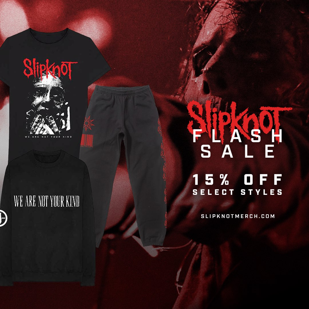 72 hours only: slipknotmerch.com