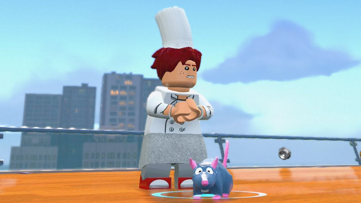 Vgguestcharacters On Twitter Alfredo Linguini Remy Ratatouille In Lego The Incredibles