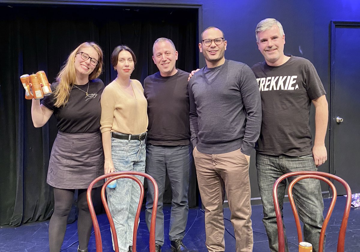 Super fun show last night @ucbtny - listen to the podcast here: itunes.apple.com/us/podcast/two…