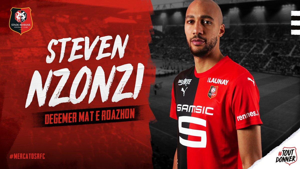 N'Zonzi file à Rennes