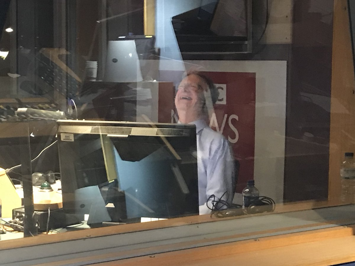 With a heavy heart we say goodbye to our presenter and friend @seamuslmckee on his last @bbcevex.