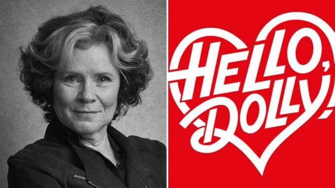Thanks to a really lovely friend, I am off to see Hello Dolly starring Imelda Staunton. Happy Birthday to me.