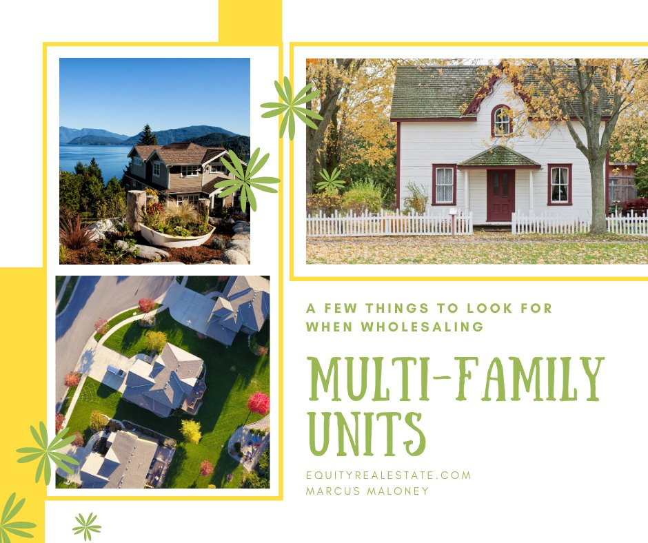 Wholesaling MultiFamily Units are a little different in this quick video here are a few things to look for. . Watch it here------> https://buff.ly/2HF8qeZ . . . #realstate #realtor #realstateagent #property #luxuryrealestate #buyahome #milliondollarlisting #Wholesaletomillionspic.twitter.com/vwOhgXeCUd