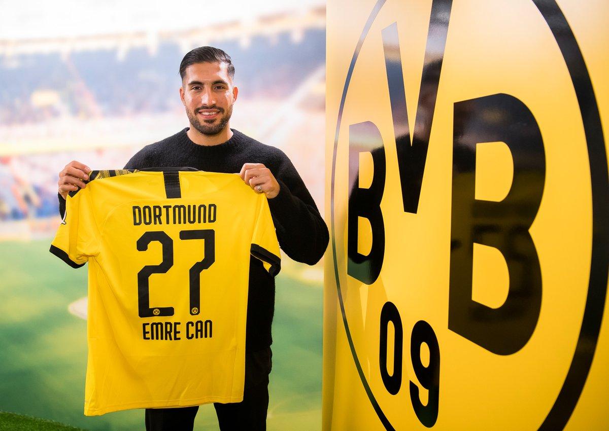 Emre Can signe à Dortmund