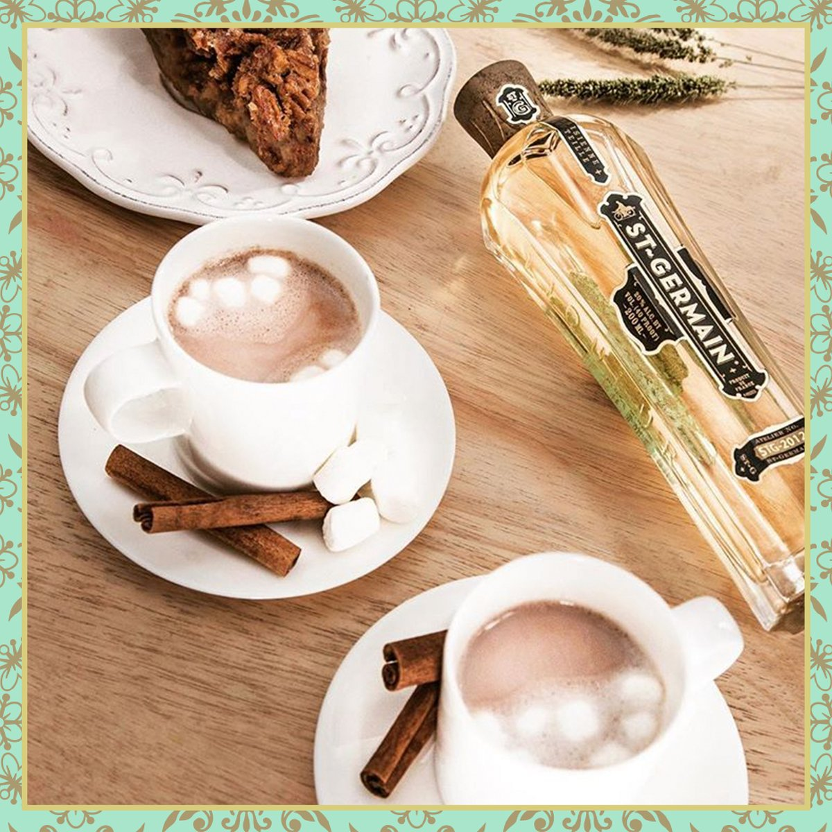 On #NationalHotChocolateDay, we promise the only FOMO you'll have is Fear Of Marshmallows Overflowing #StGermainDrinks https://t.co/RxuDYL8hex