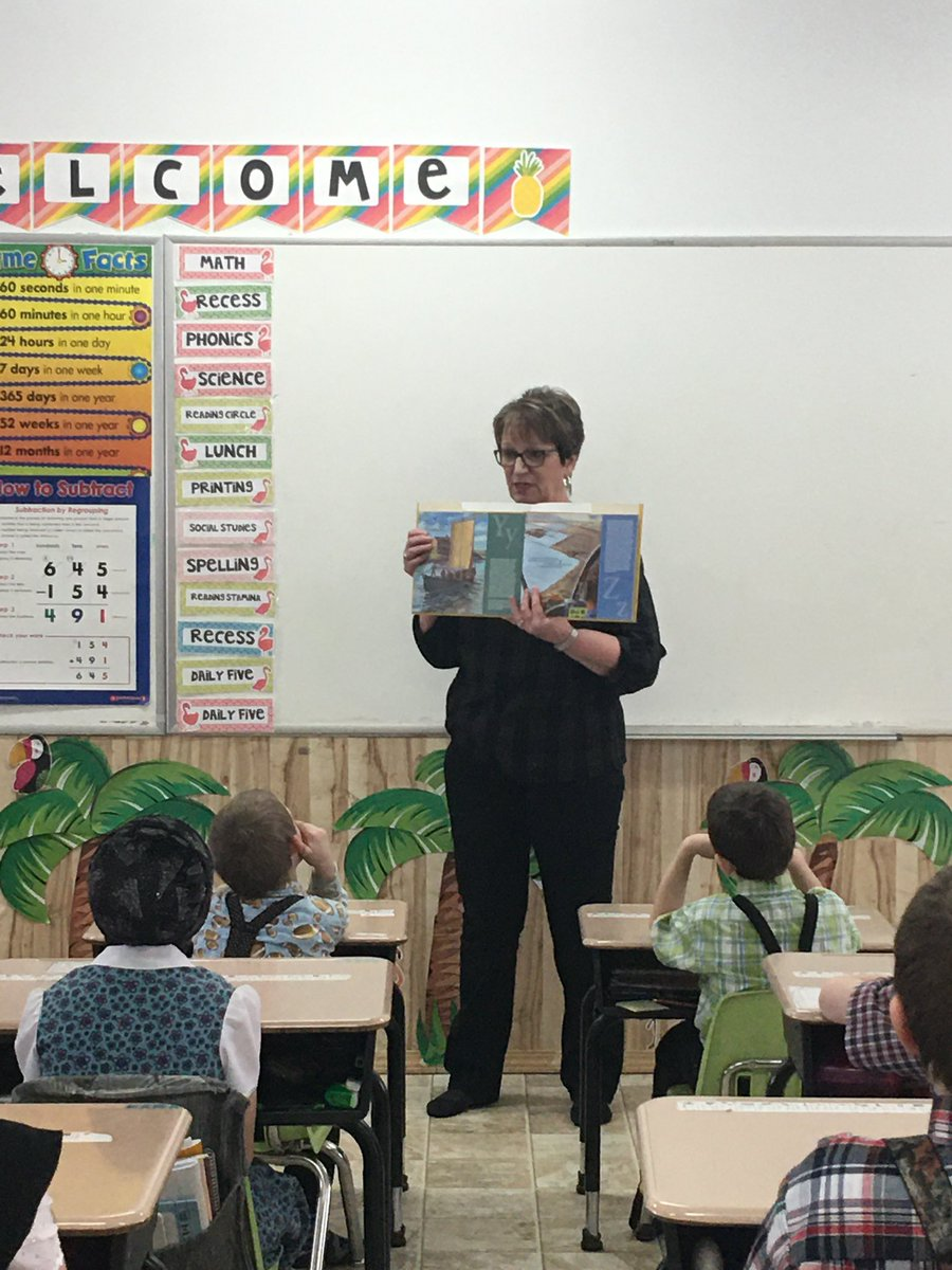 """test Twitter Media - Thanks to Pine Creek Colony students and their teacher Sarah for such a warm welcome to your school for I Love to Read. You are a fun bunch of students and I love your """"thank you"""" poster. I'll be back again before the end of the school year. #mbpoli https://t.co/BN5M4lI2Tt"""