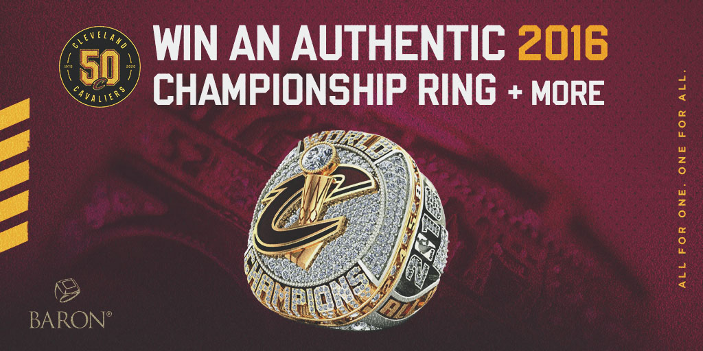 Cleveland Cavaliers On Twitter Take Home A Piece Of Cavs50