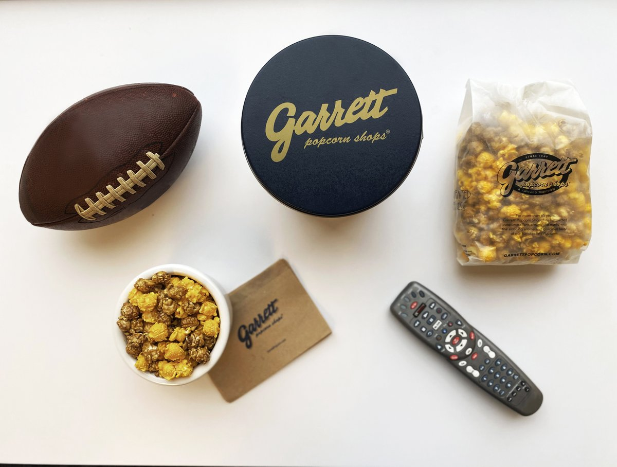 Are you ready for the biggest game of the year?! Get to a Shop for some Garrett to complete your watch-party spread! #GarrettPopcorn