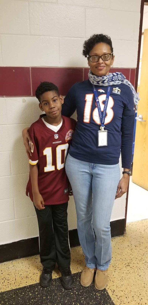 NFL gear in the house! @WeAreBTWE #buildingthebestSPS #spsk12proud #NFLTwitter