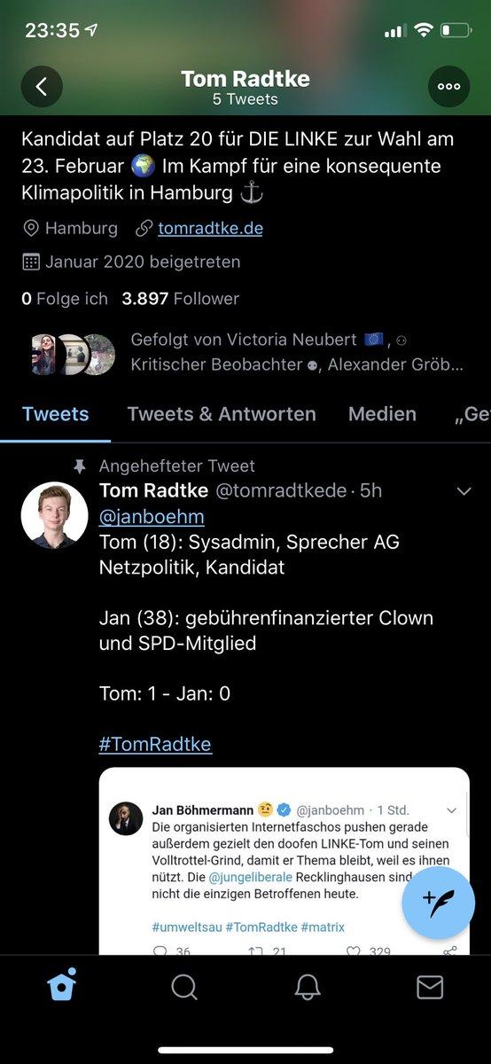 #TomRadke