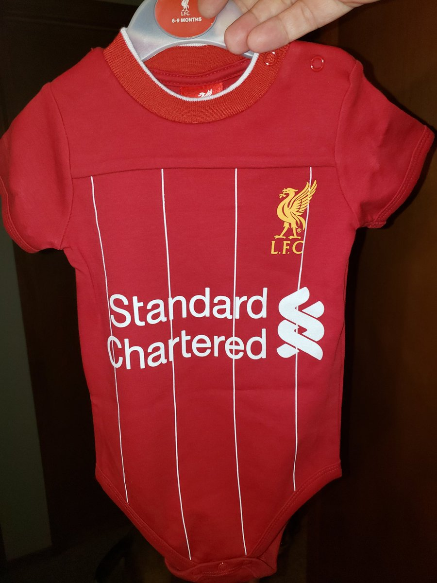 Got this for the coming little man! @LFC @NBCSports @MenInBlazers https://t.co/89pDSuIIix