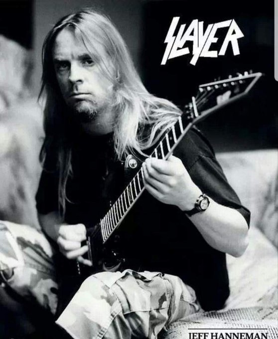 Happy Birthday Jeff Hanneman..Still Reigning .. Rest in  Peace