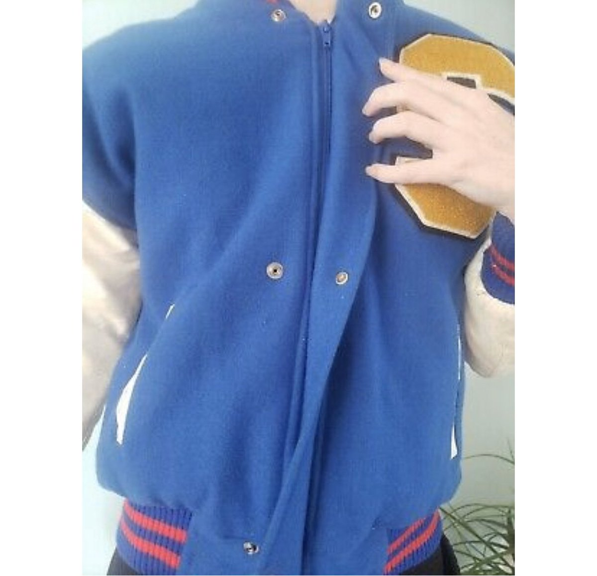 On Twitter Looking To Sell Sonic The Hedgehog Vintage Varsity Jacket From The 90s Promotional Item From Sth2 And Was Only Given To Sega Employees 1 200 But Offers Are Welcomed