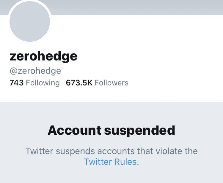 Zerohedge Twitter