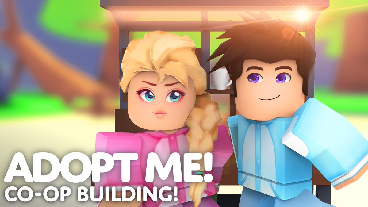 Adopt Me On Twitter Build With Friends Update Place
