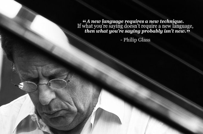 Happy 83rd Birthday to the amazing Philip Glass, who was born on this day in 1937 in Baltimore, MD.
