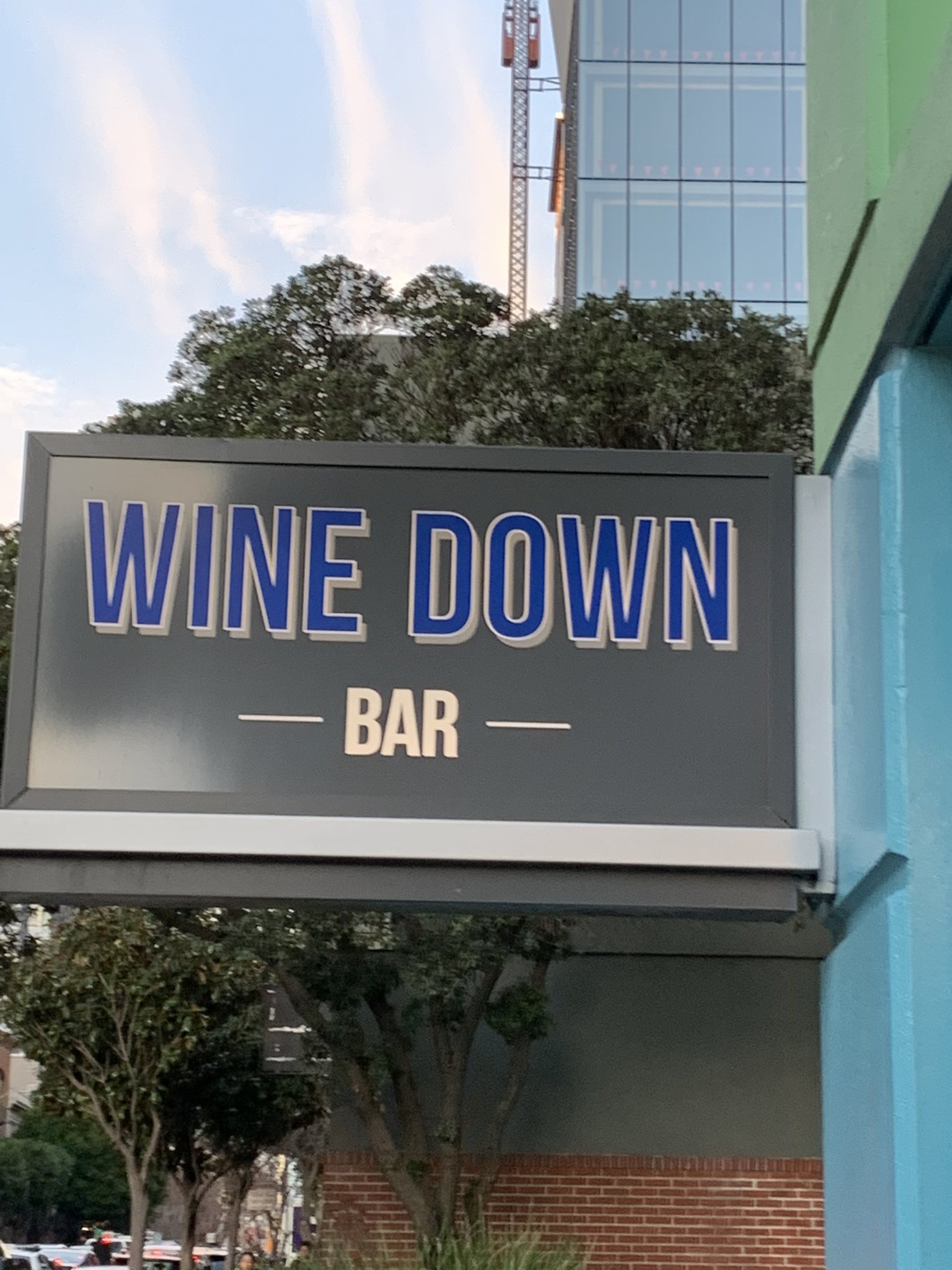 wine down bar