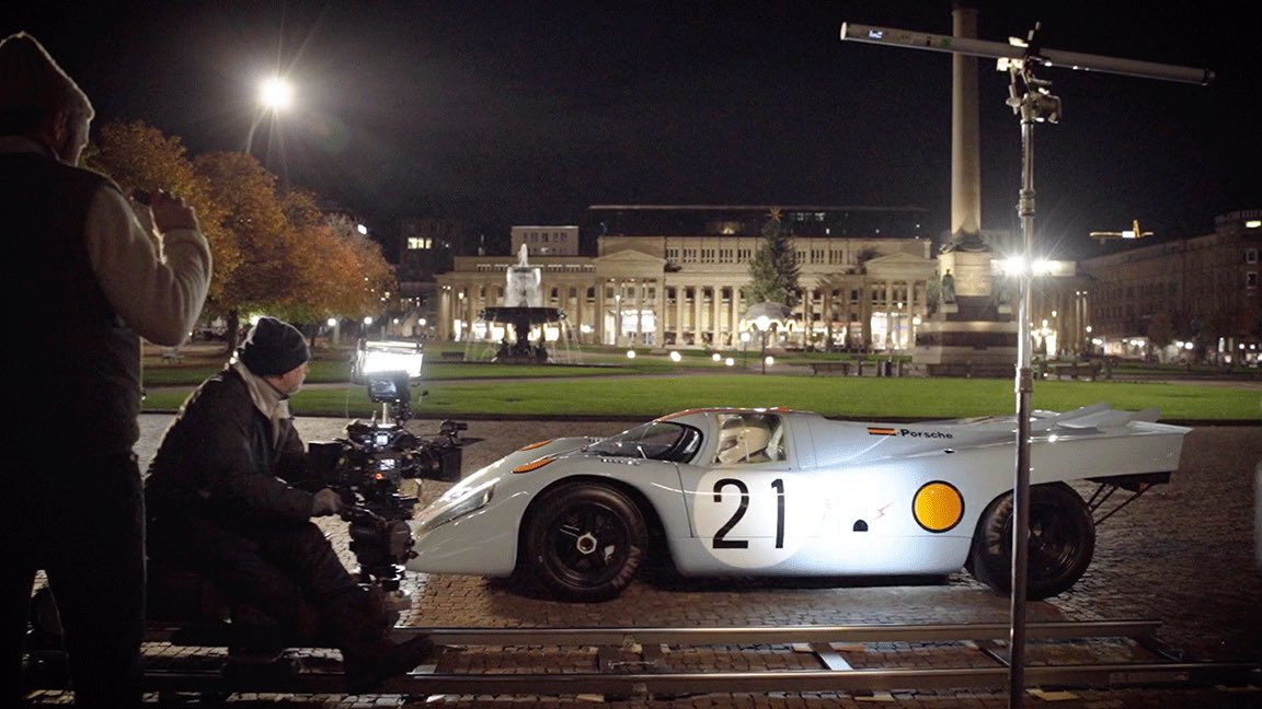 Steal a behind the scenes look at our Big Game commercial tonight on @MotorTrendTv.   #FollowThatPorsche