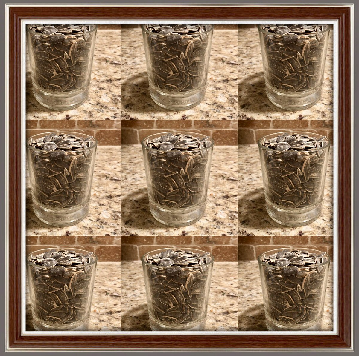 🦋$100 Challenge🦋  How many Sunflower Seeds are in these 9 cups? Each person has 10 chances. Whose going to be @RyanConstructi4 and my first $100 winner?     💜READY💜HAVE FUN💜GO💜