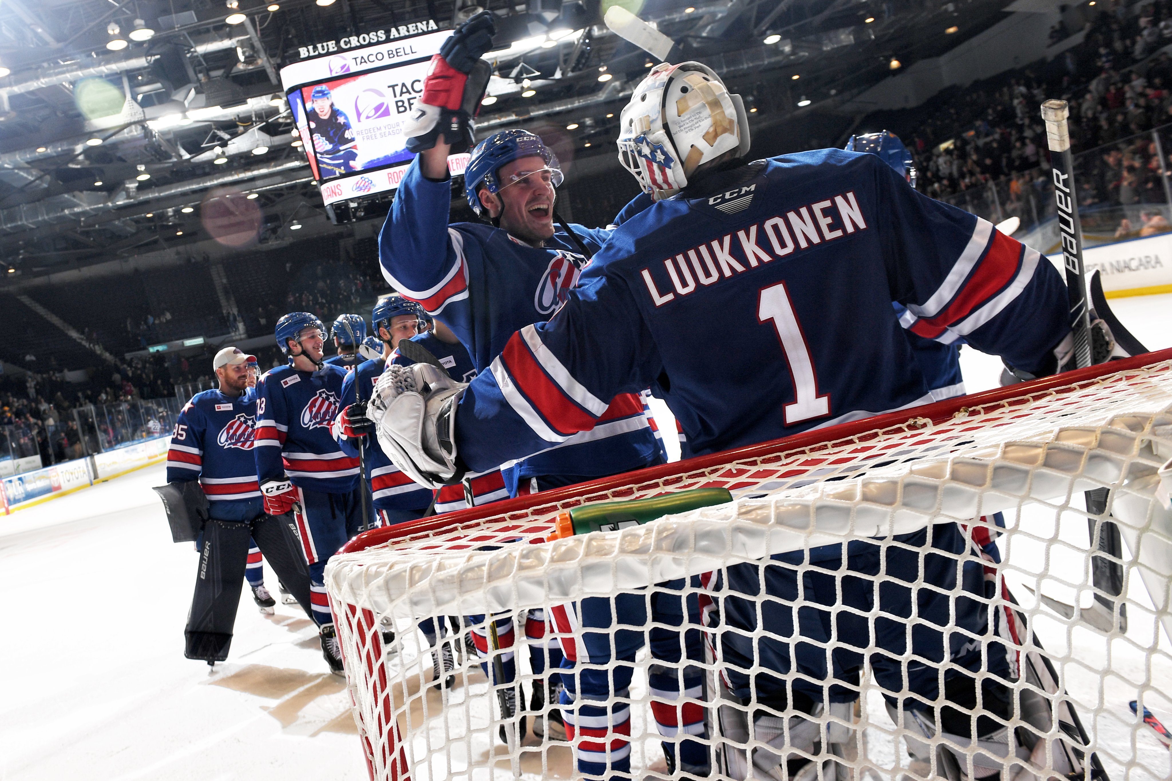 Amerks defeat Crunch, 4-2, for fourth straight victory