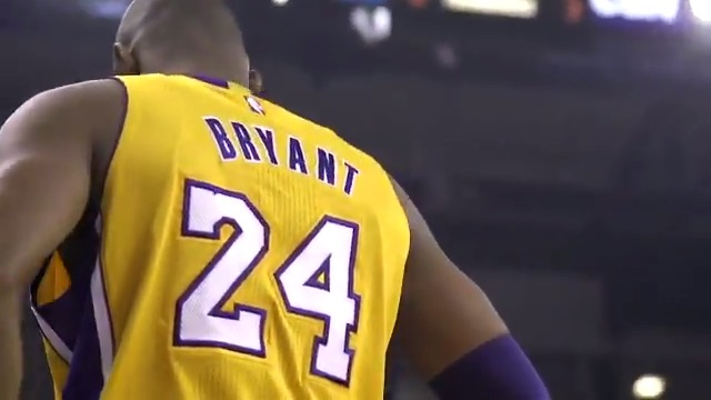 The Lakers' tribute to Kobe Bryant 💜💛