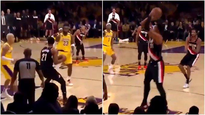 【影片】湖人落後時,球迷3次高呼Kobe,詹眉難造逆轉,大白邊卻用Kobe的招牌動作終結懸念!