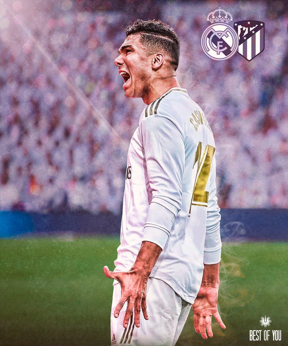 #HALAMADRID  #RealMadrid #RMLiga   @realmadrid 🆚 @Atleti  📍 Estadio Santiago Bernabéu 🏆 @LaLigaBRA  🇧🇷 12:00 h 🇪🇸 16:00 h
