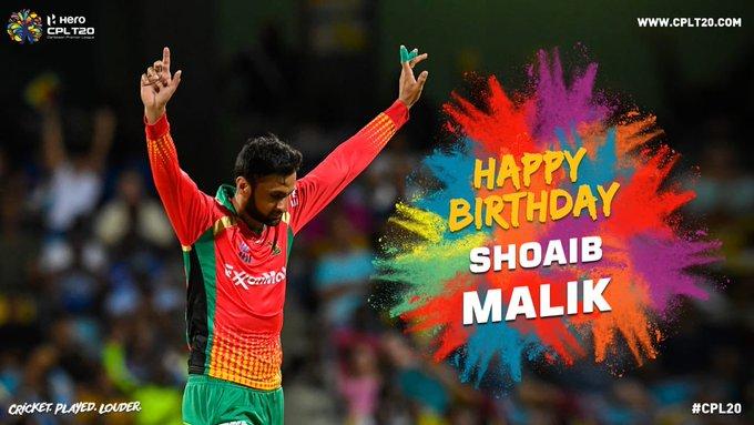 HAPPY BIRTHDAY SHOAIB MALIK |   via