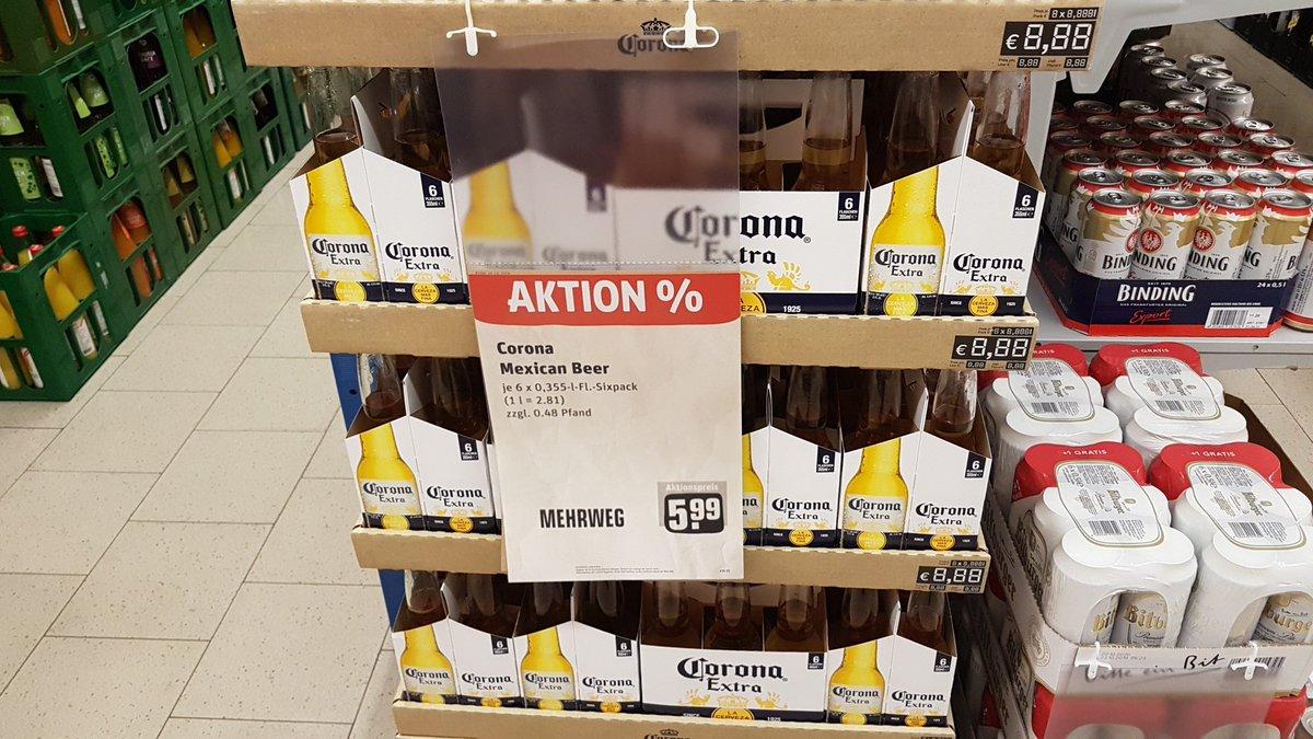 corona bier aktion