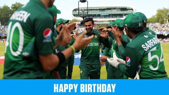 Shoaib Malik  HAPPY BIRTHDAY