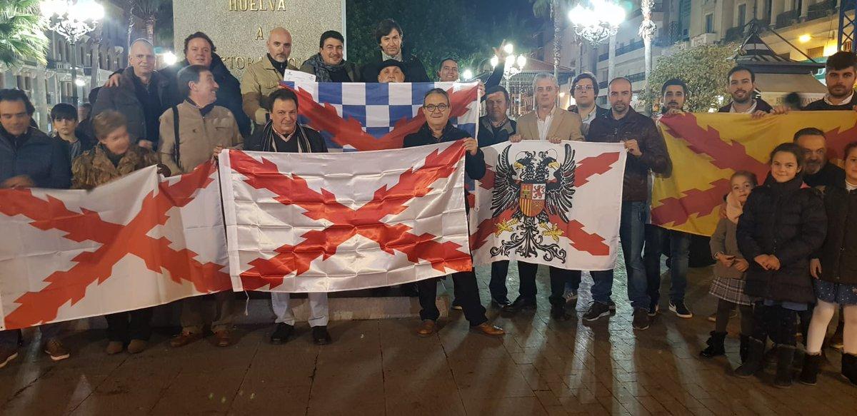 Huelva vivió el recuerdo a los Tercios con jóvenes y mayores. Somos para todos y de todos. Los Tercios van a ocupar el lugar que se merece #31EneroTercios https://t.co/63S6Mn8KcQ