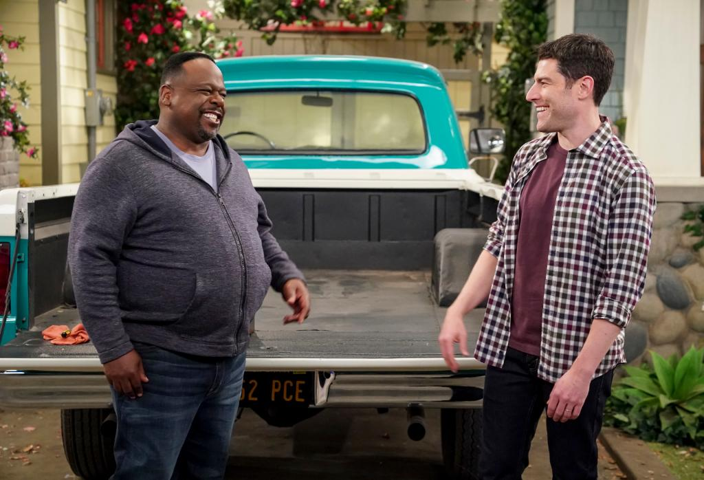 Our faces after realizing there's a brand-new #TheNeighborhood this Monday.