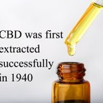 #CBD was first extracted successfully from the cannabis plant in 1940 by the chemist Roger Adams of Harvard University. #hempoilextract #cbdoil #cannabidiols #cbdhelps https://t.co/8bIHIJsyrS