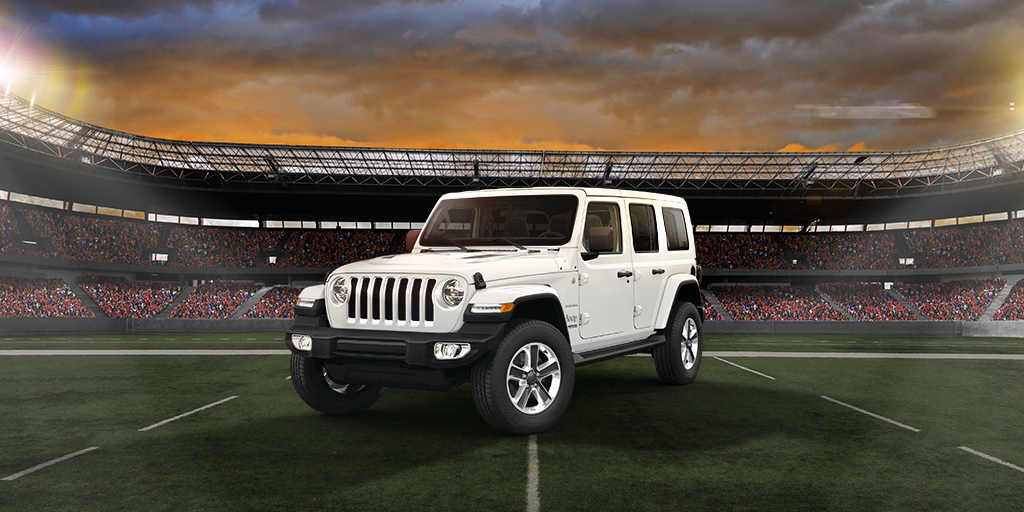Bold, rugged performance to get passionate about.  #6Nations #Jeep #Wrangler