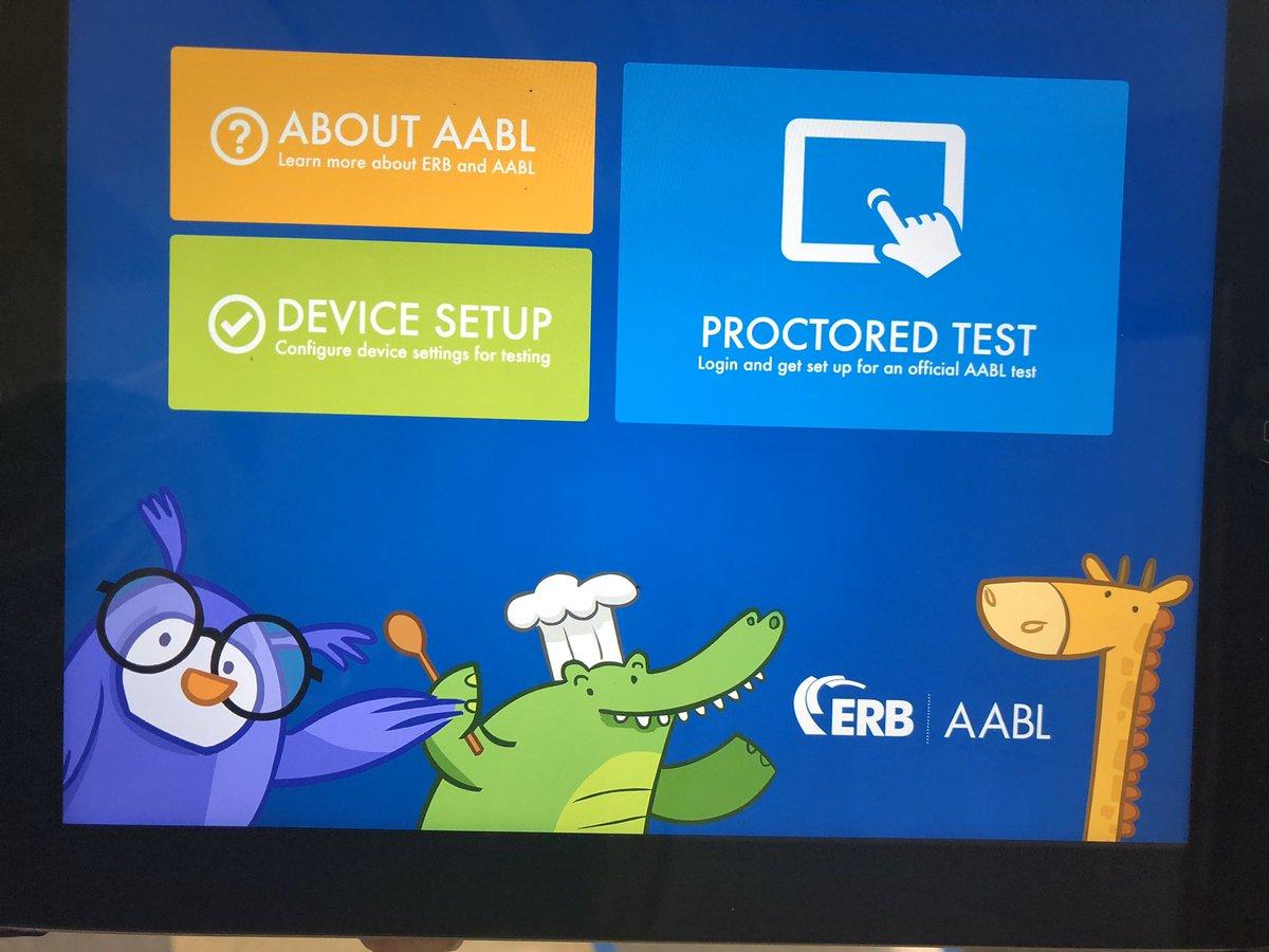 First grade testing in full swing! @portergaud @ERBlearn #AABL #edtech https://t.co/h3KLSNExh1