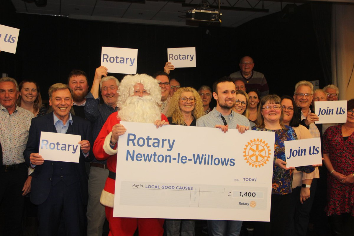A massive thank you to @nlwrotaryclub for their kind donation to our Friends of the District.  Our Friends of the District together with teachers assisted the Rotary Club on their Christmas Float.    #DistrictCommunity #DistrictFOTD #NewtonleWillows #Earlestown #NLWRotaryClub
