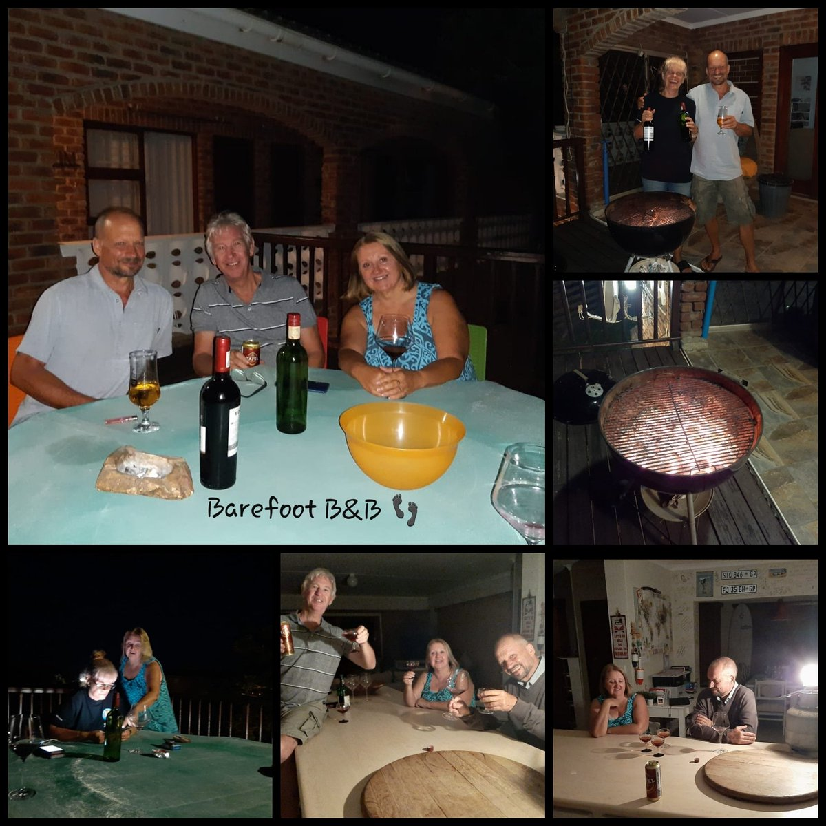 Loadshedding = braai time 😉 Another fun-filled evening at Barefoot B&B. Introducing our German guest to Pap, wors en sous 🍻 #weloveourguests #whatloadshedding #fridayisbraaiday #papensous #morganbay #barefoot #coastaldestinations #coastalvibes #accommodation #bedandbreakfast