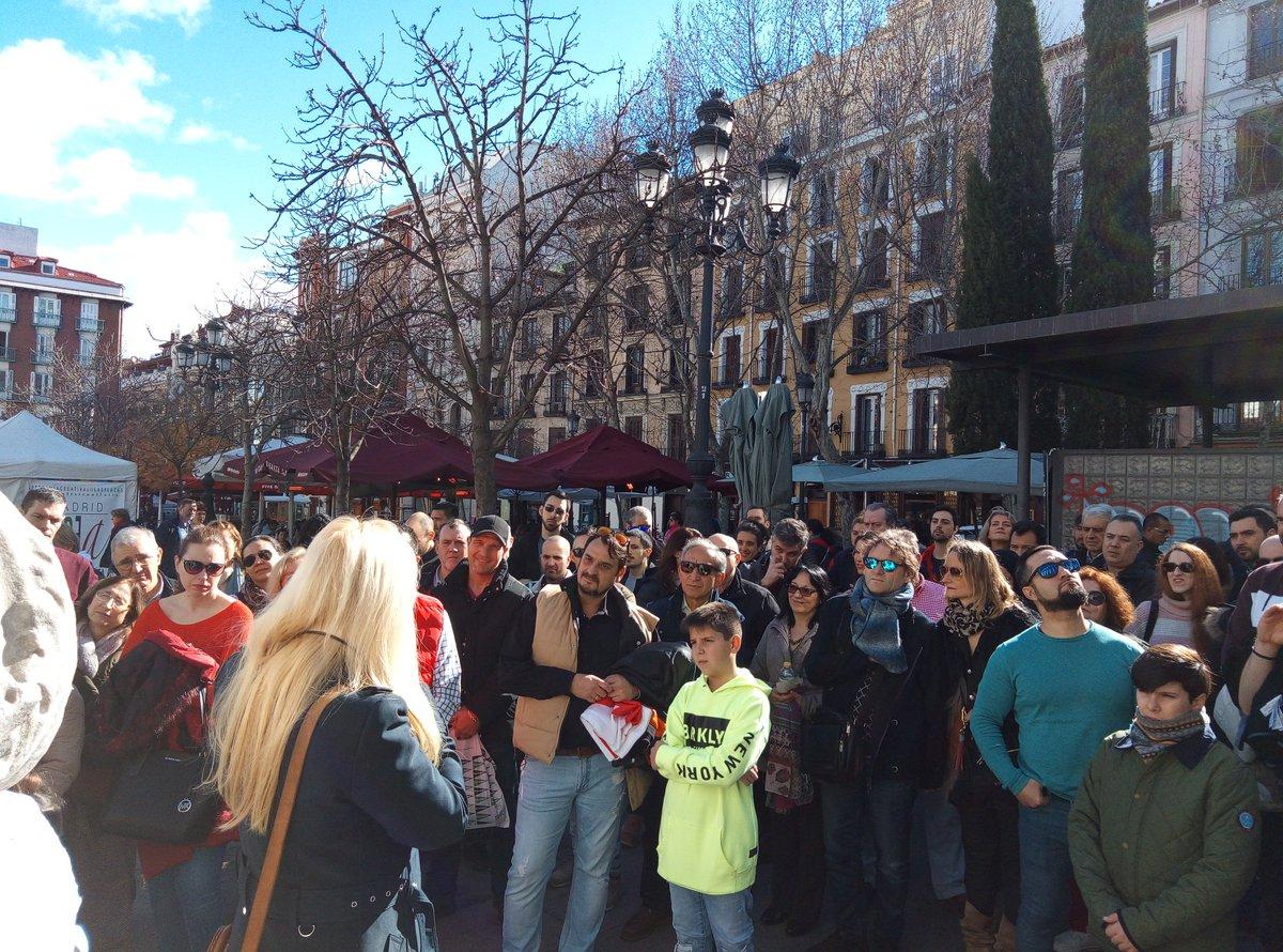 En esta mañana de sábado, Madrid vuelve a deslumbrar como broche final en la celebración del día de los Tercios. Hemos abarrotado el tour sobre los Tercios y, sobre todo, hemos acercado a más gente a estos hombres. Ha sido un placer conocerles.¡Siempre Tercios! #31EneroTercios https://t.co/qzyYNKsqlA