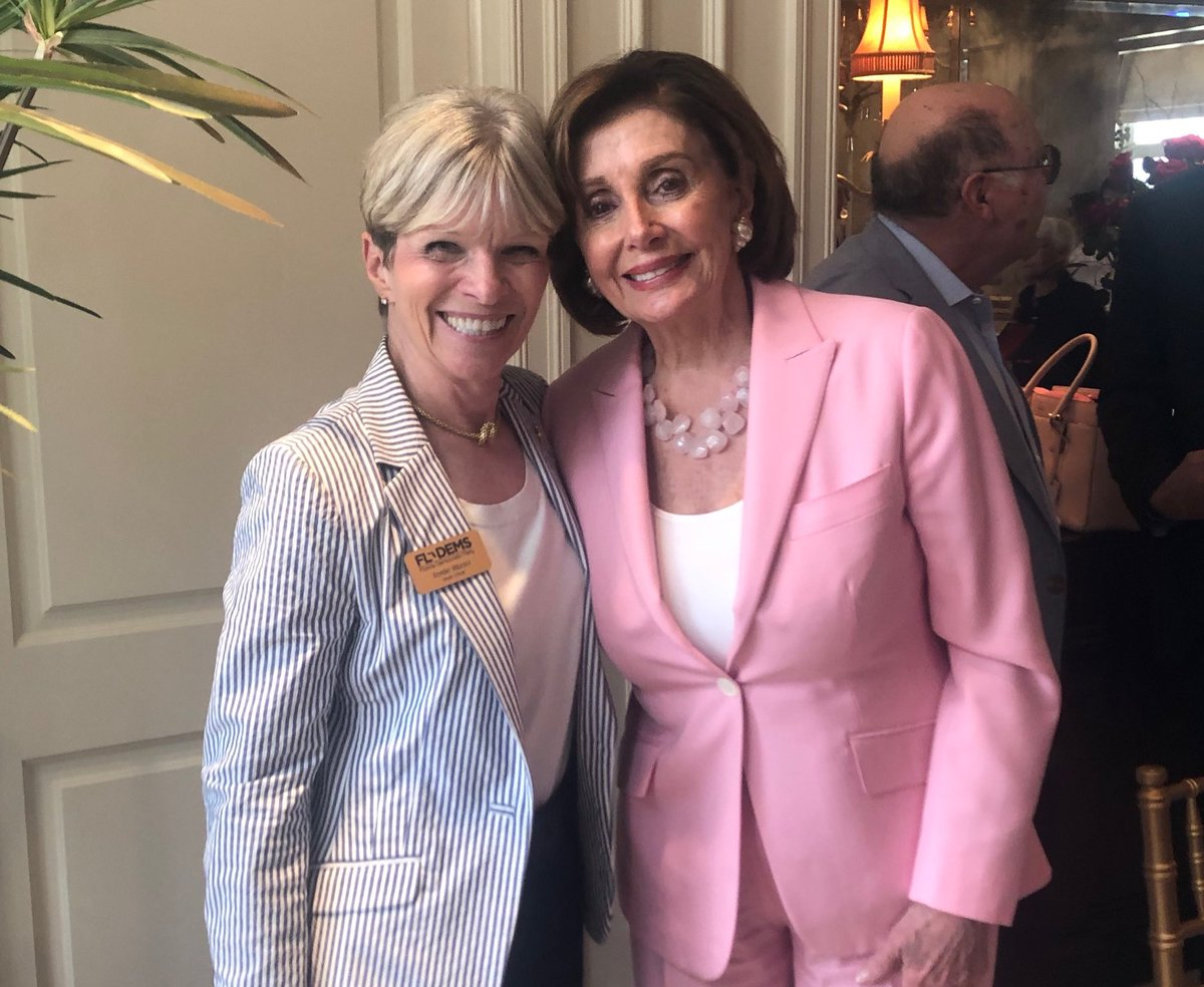 Just two sheroes saving democracy one state at a time 👑✊ @SpeakerPelosi @TerrieRizzo