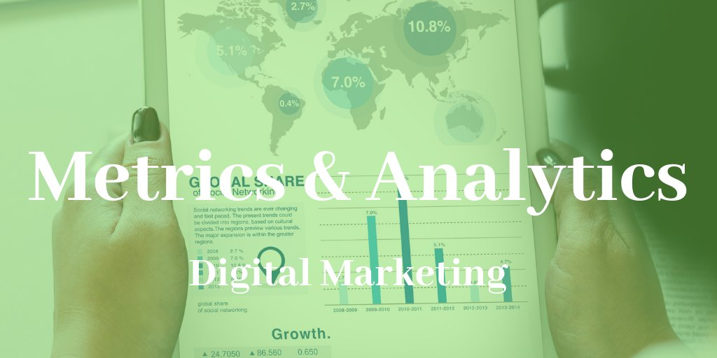 Why are Metrics and Analytics Important for a Digital Campaign?  Digital Marketing Metrics and Analytics http://www.profiletree.com/digital-marketing-metrics-and-analytics/ …  #webtraffic #Rate #SEO #analytics #brandingpic.twitter.com/8pGyX2mgCn