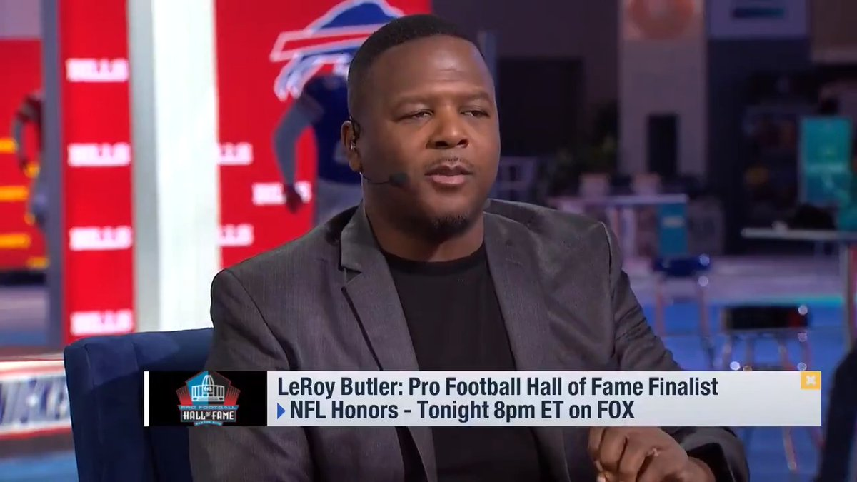 Former @Packers DB LeRoy Butler (@leap36) reflects on his path from a kid in the projects to a @ProFootballHOF Finalist.   #GoPackGo