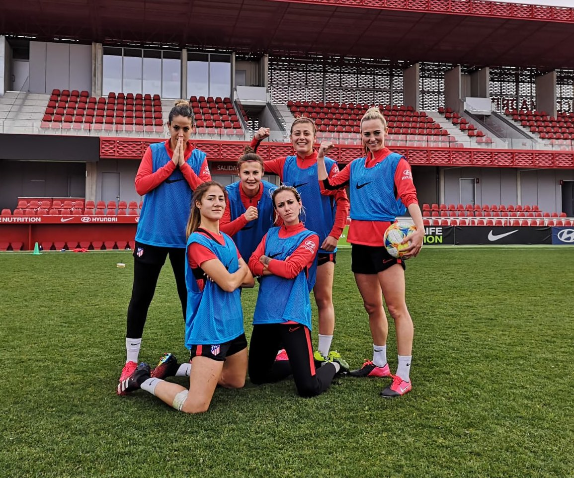 Entrenamiento ✅ Mañana partido 🏧 #teamwass #pumafootball #pumaone #siempreatleti #crownnutrition #prokeydrinks https://t.co/K91szNZZ2b