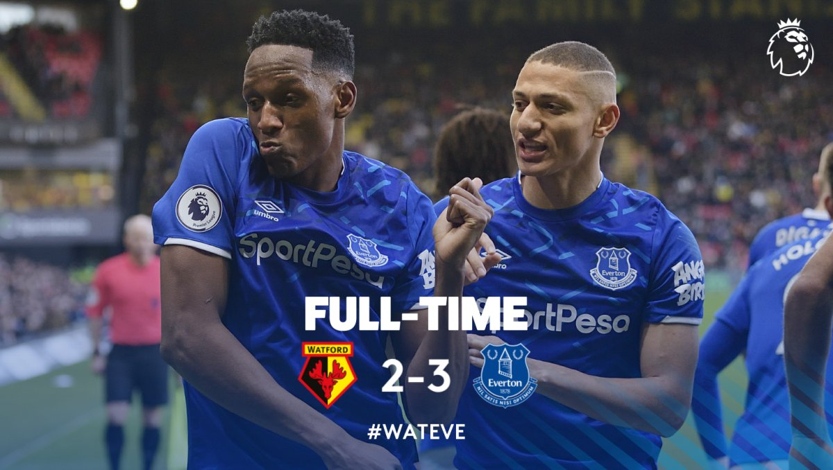 Watford vs Everton highlights, 01/02/2020