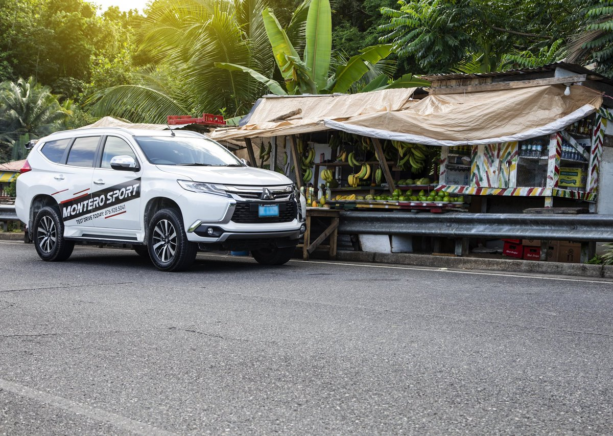 Road trip this weekend? 🚙 🇯🇲  Explore Jamaica's nooks and crannies in the safety and comfort of the Mitsubishi Montero Sport! Now available for you to test drive.  Visit our Showroom at 51 South Camp Road or Ironshore Industrial Estate to find out more & BOOK YOUR TEST DRIVE! https://t.co/G6f0GU6IXG